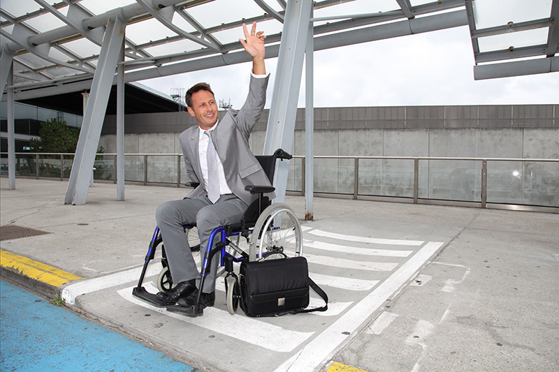 Disabled chauffeur service